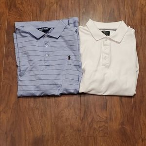 2 Polos Ralph Lauren and Nordstrom Size L